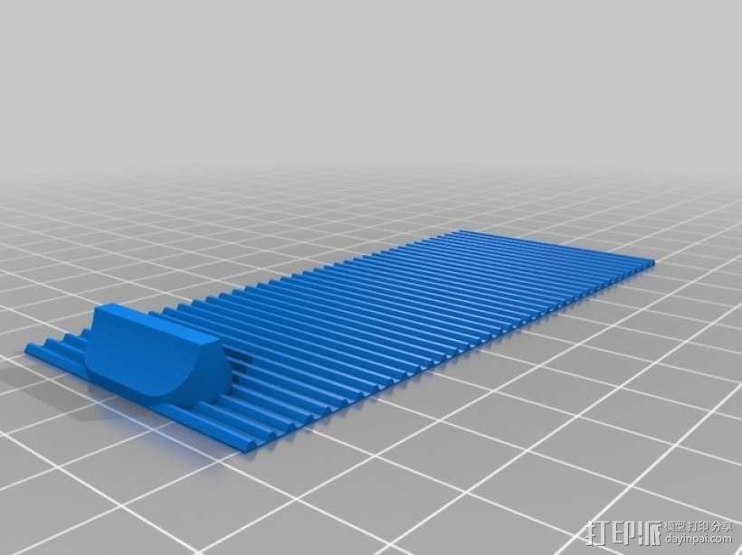 迷你椭圆形小盒 3D模型  图14