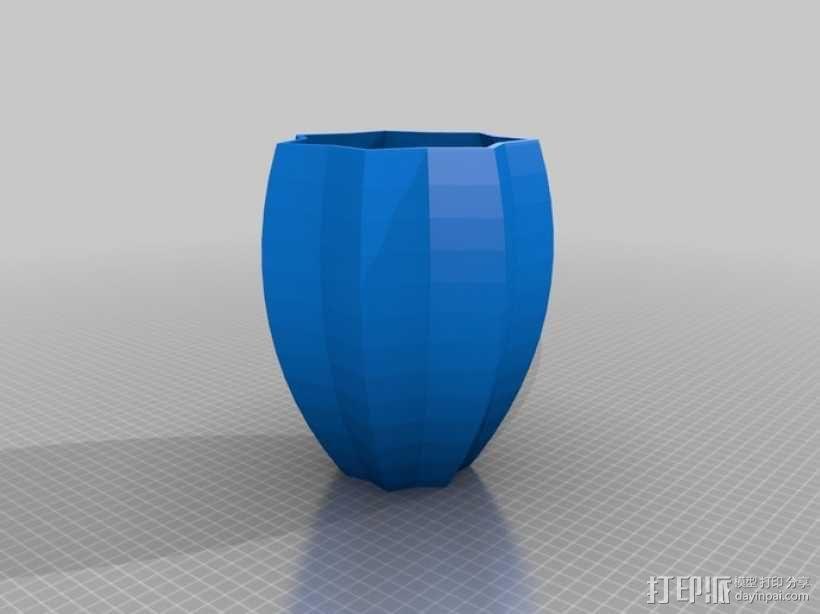 定制化碗/杯/花瓶 3D模型  图2
