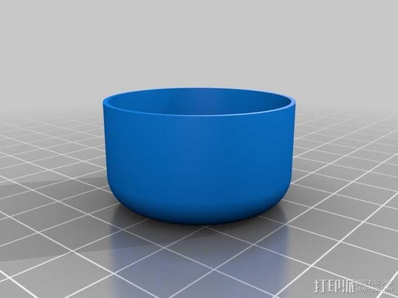 定制化圆形小盒 3D模型  图5