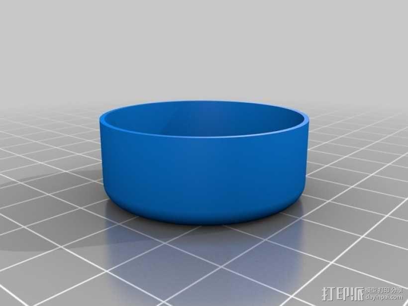 定制化圆形小盒 3D模型  图4