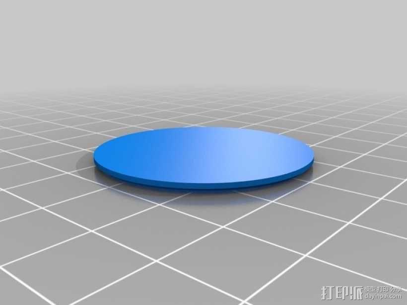定制化圆形小盒 3D模型  图7