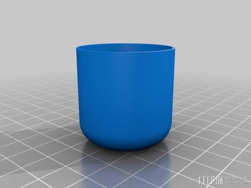 定制化圆形小盒 3D模型  图6