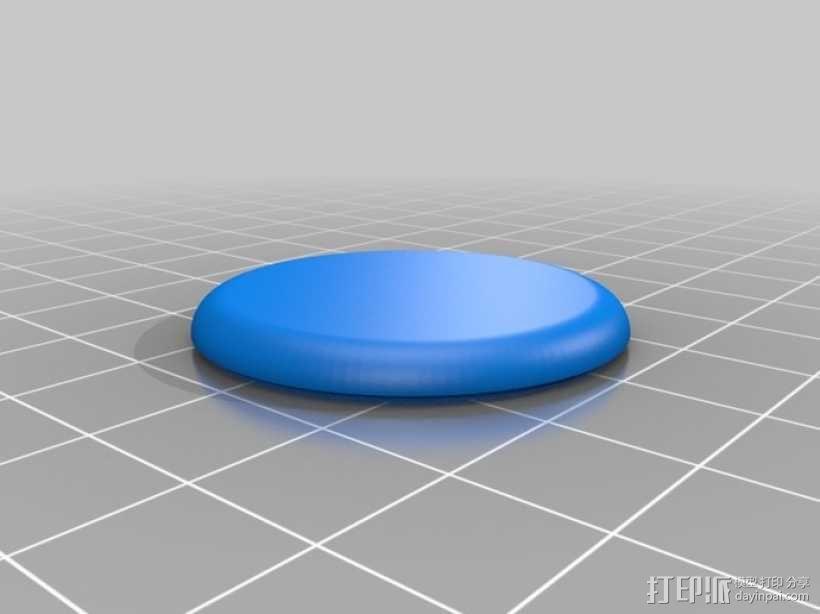 定制化圆形小盒 3D模型  图9