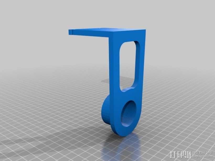 纸巾架 3D模型  图5