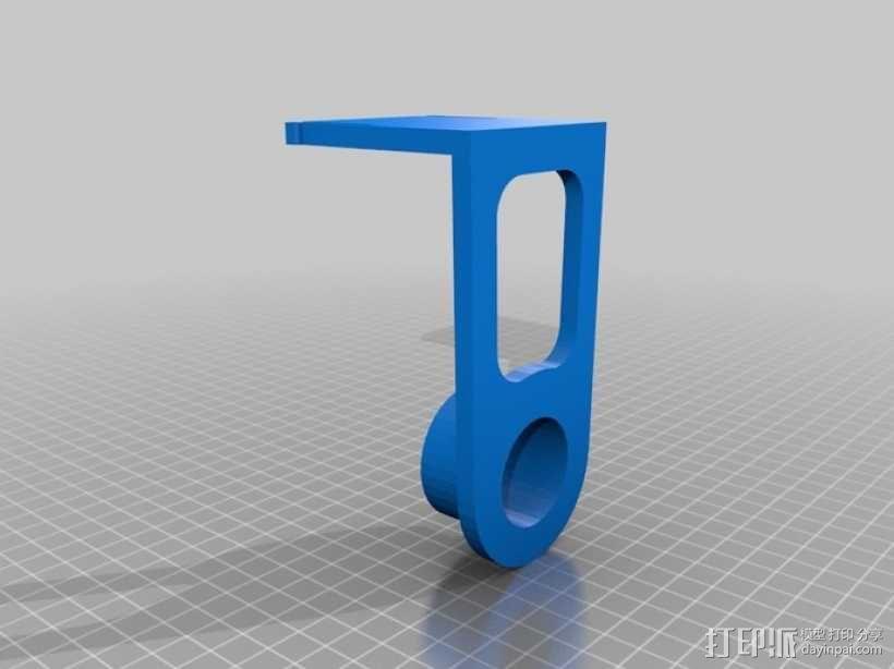 纸巾架 3D模型  图6