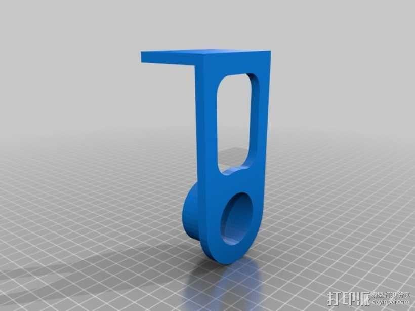 纸巾架 3D模型  图8