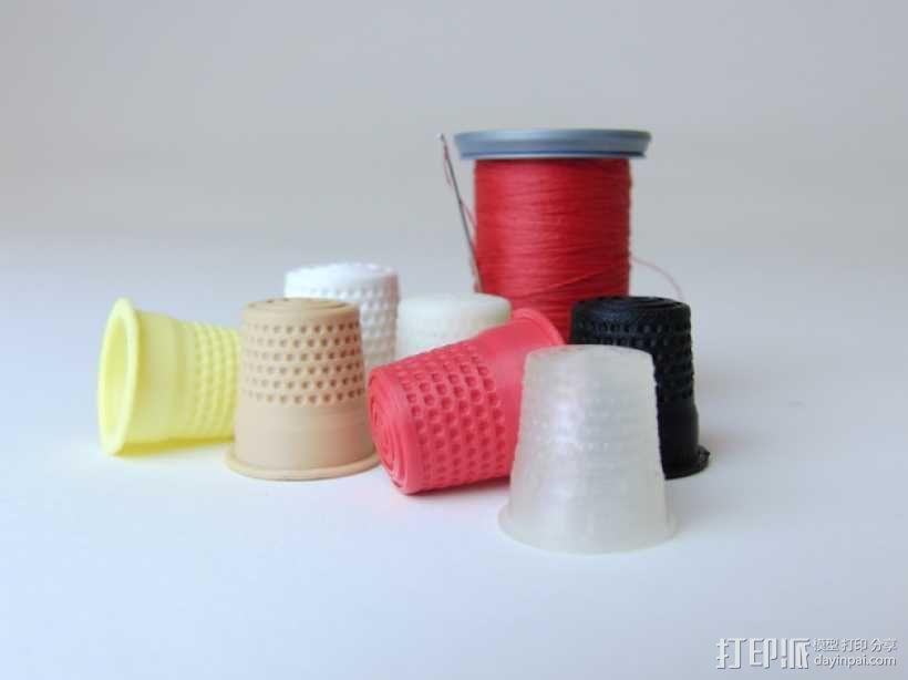 3D打印套环 3D模型  图1