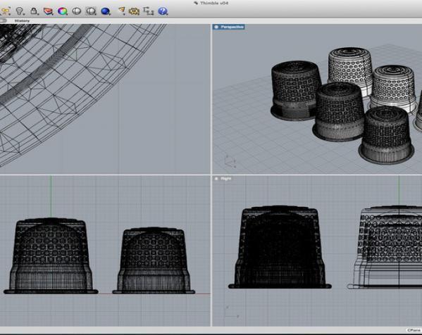3D打印套环 3D模型  图2