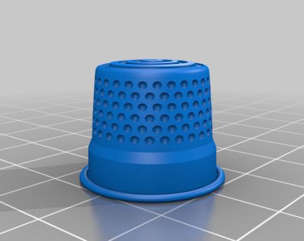 3D打印套环 3D模型  图4