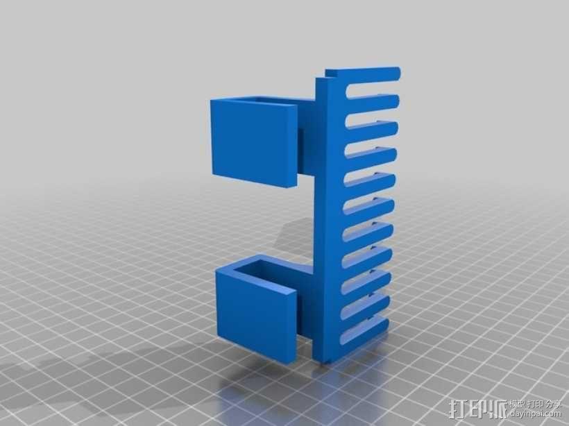 电缆支架/挂钩 3D模型  图3