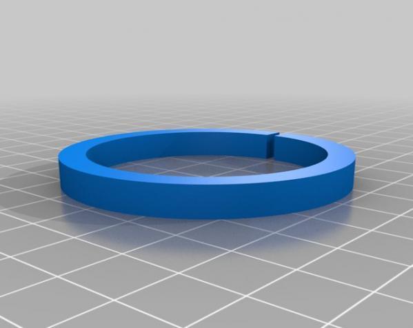 擀面杖圈垫 3D模型  图3