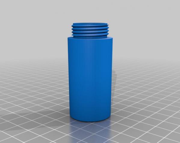 电池存储盒 3D模型  图1