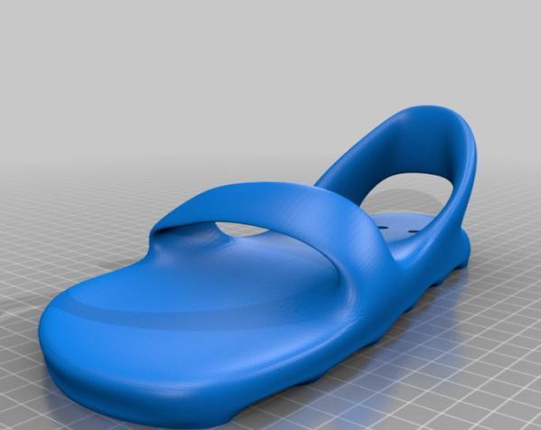 脚形花盆 3D模型  图7