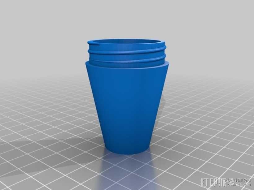 组装式台灯 3D模型  图3