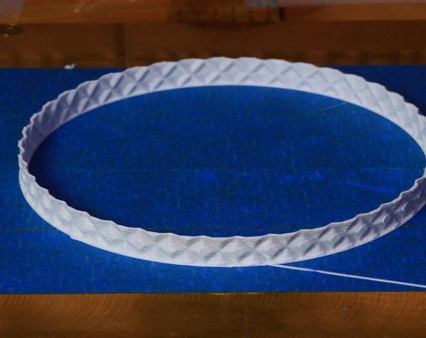 滚花圆形笔筒 3D模型  图3