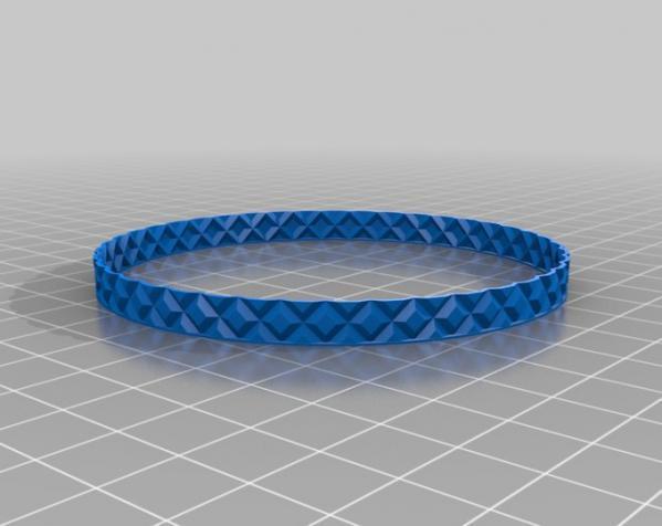 滚花圆形笔筒 3D模型  图4