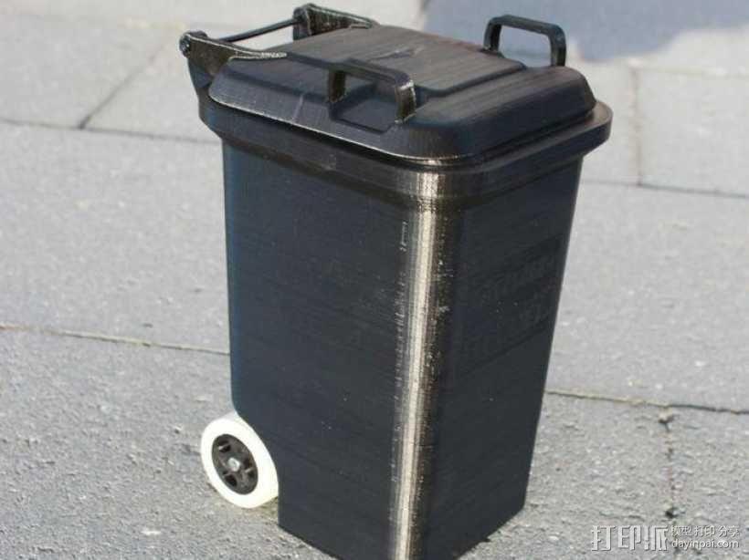 迷你垃圾桶 3D模型  图10