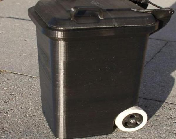 迷你垃圾桶 3D模型  图11