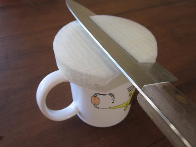 圆形磨刀器 3D模型  图1