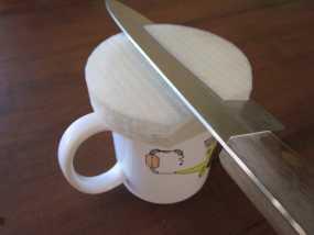 圆形磨刀器 3D模型