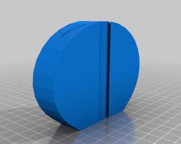 圆形磨刀器 3D模型  图4