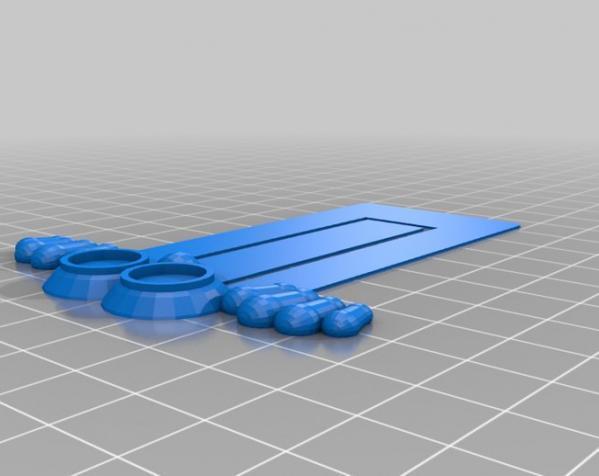 金鱼眼书签 3D模型  图3