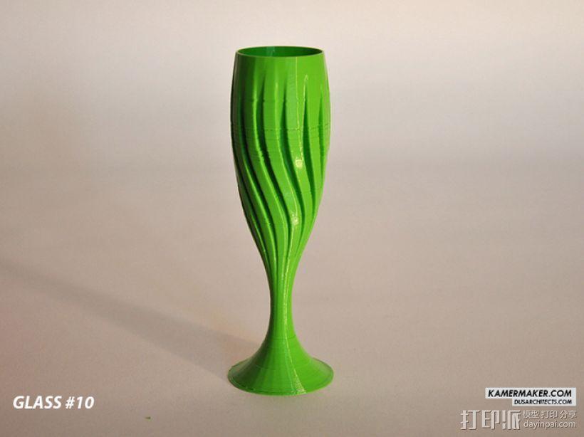 DUS设计 -- 香槟酒杯 3D模型  图4