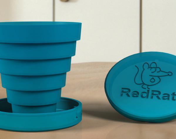 可折叠的小杯 3D模型  图5