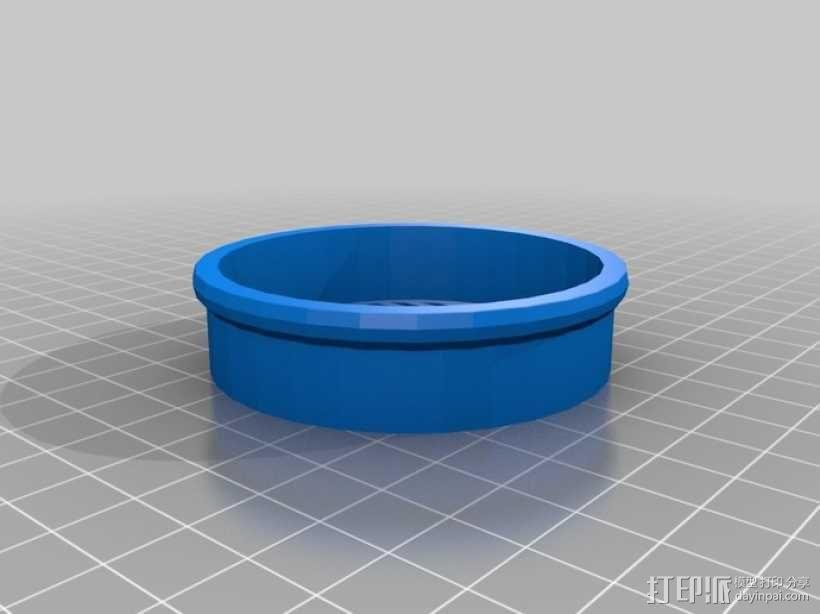 圆形过滤器 3D模型  图1