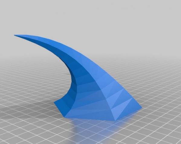 """""""自然之力""""灯罩 3D模型  图1"""