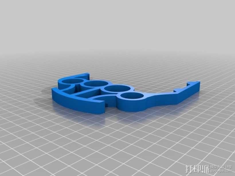 易拉罐把手 3D模型  图1