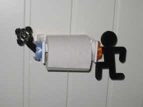 个性化厕纸架 3D模型