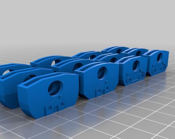 个性化钥匙套 3D模型  图1