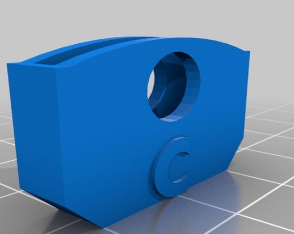 个性化钥匙套 3D模型  图2