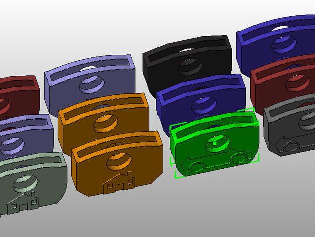 个性化钥匙套 3D模型  图11