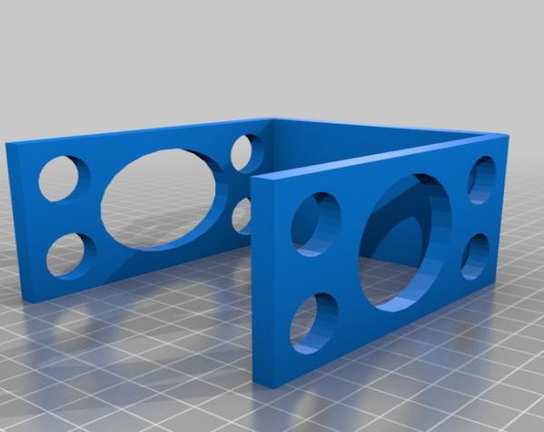 牙刷牙膏架 3D模型  图3