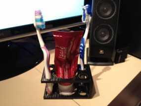 牙刷牙膏架 3D模型