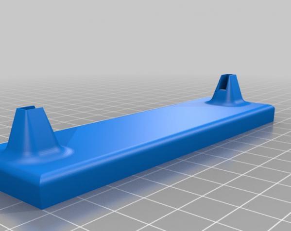 迷你耳环挂钩/架 3D模型  图3