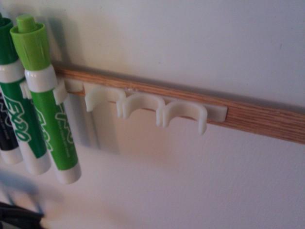白板笔架 3D模型  图2