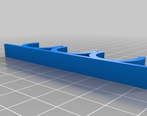 白板笔架 3D模型  图3