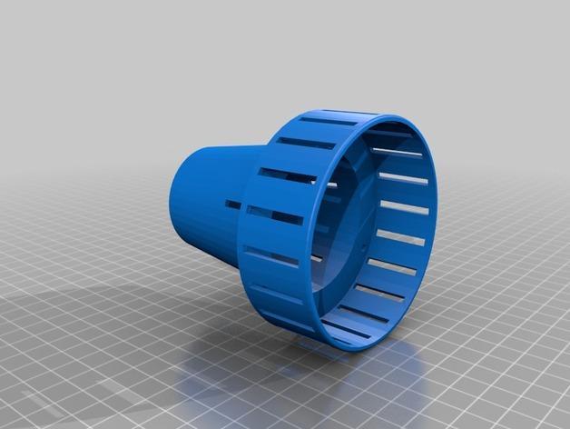 E27灯具灯罩 3D模型  图1