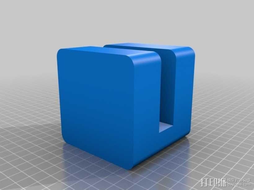 MacBook平板电脑站架/支架 3D模型  图1