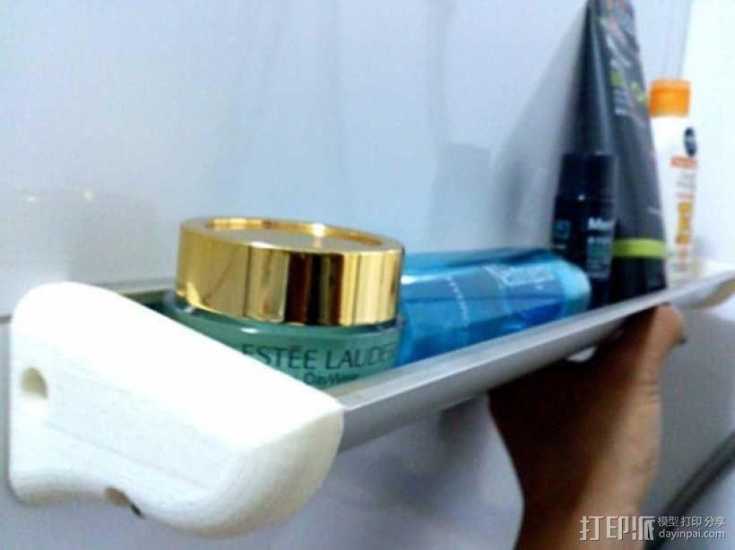 浴室置物架 3D模型  图1