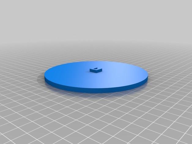 壁挂式灯架/架子 3D模型  图3