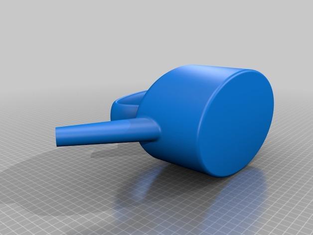 迷你紫铜壶 3D模型  图3