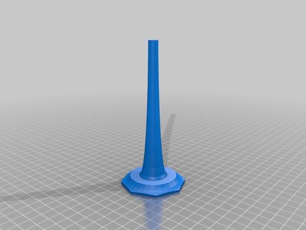 三枝状大烛台 3D模型  图3