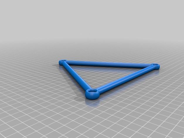 三枝状大烛台 3D模型  图4