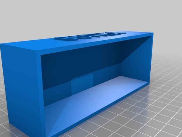 黄油盒 3D模型  图3