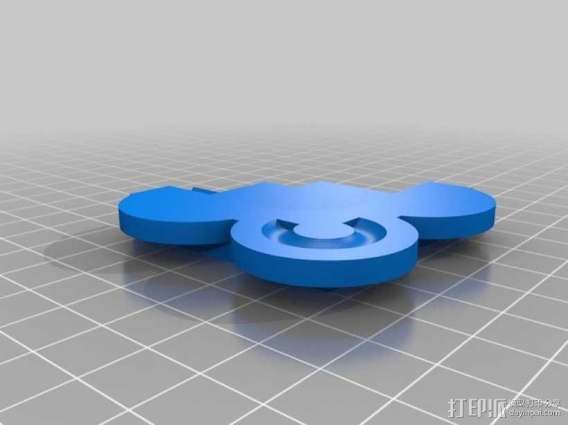 A4壁挂式相框 3D模型  图6