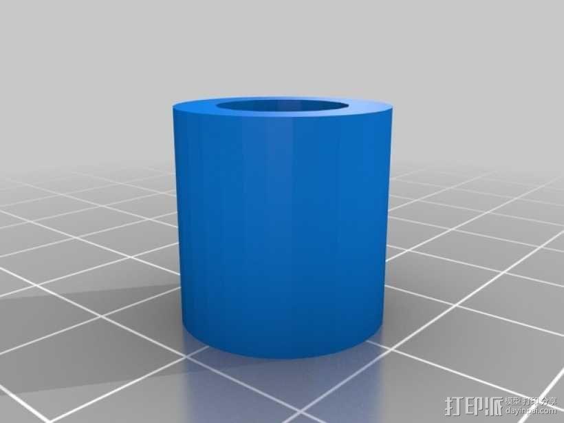 Camper窗帘杆 3D模型  图3